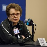 The legendary Billie Jean King.
