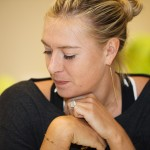 Maria Sharapova at the WTA All-Access Hour